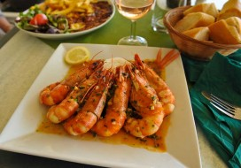 Gambas in Ste Maxime