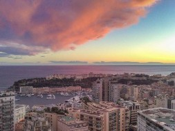Monaco cloud formations - after